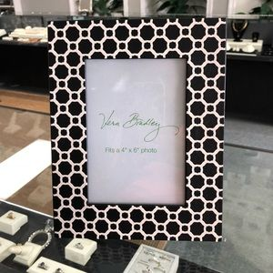 Vera Bradley Home Faux Leather Picture Frame
